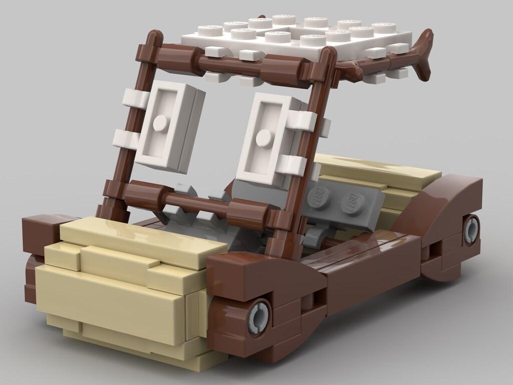lego flintstones mobile moc