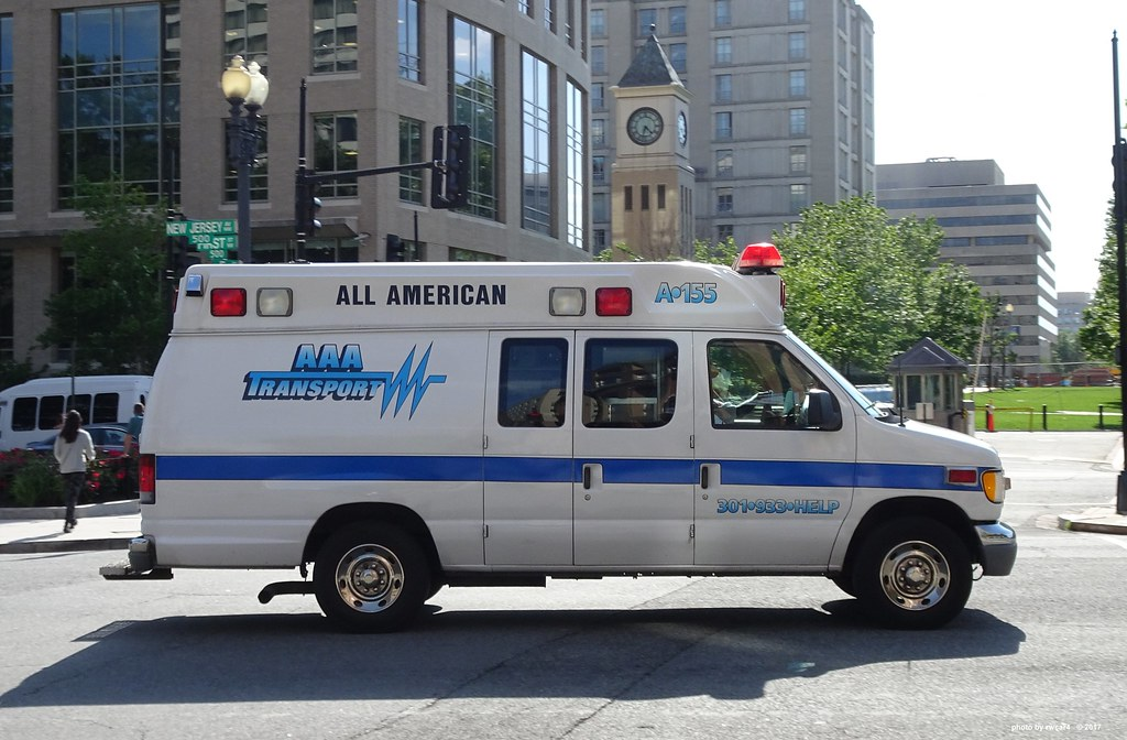 aaa transport ambulance ford