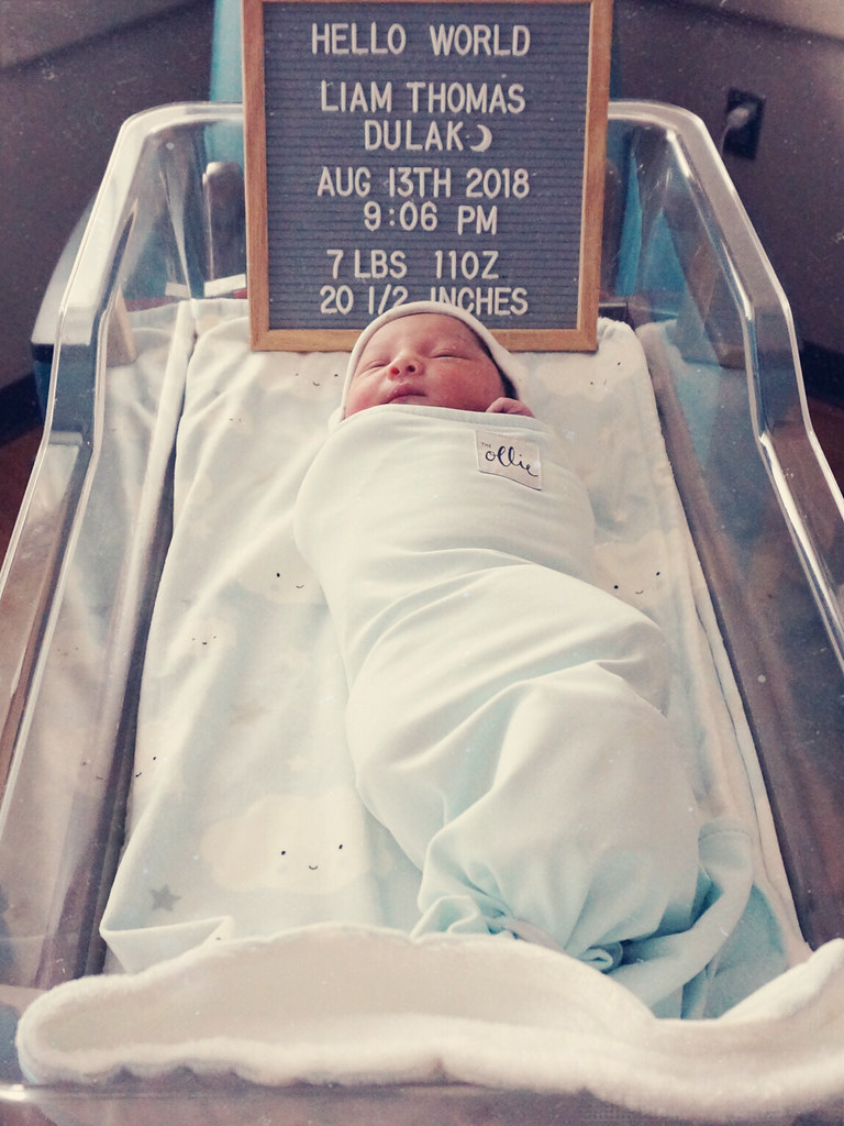 Birth Story post