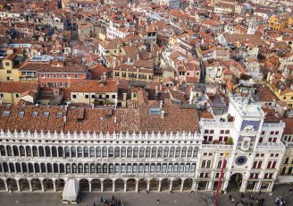 Piazza from San Marco Campanile
