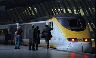 歐洲交通新紀元 | (2007/11/14) 高速鐵路列車「歐洲之星」將告別英國的滑鐵盧車站(Waterloo stat… | Flickr