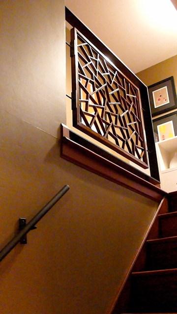 Modern Stair Railing Suburban Split Level Home This Rail… Flickr | Split Level Stair Railing | Wrought Iron | Julia | Modern | Easy Diy | Fancy
