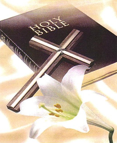 bible cross lily jtsummers