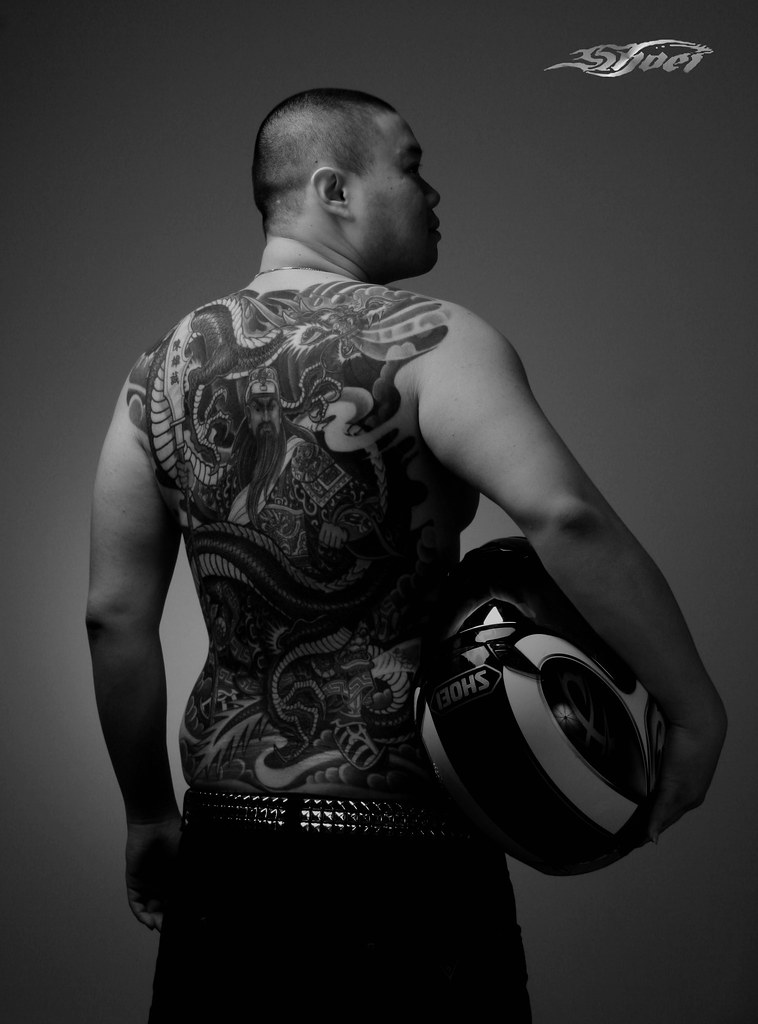 Chinese Triad Tattoos : chinese, triad, tattoos, (Chinese, Traditional, Triad, Tattoo...…, Flickr