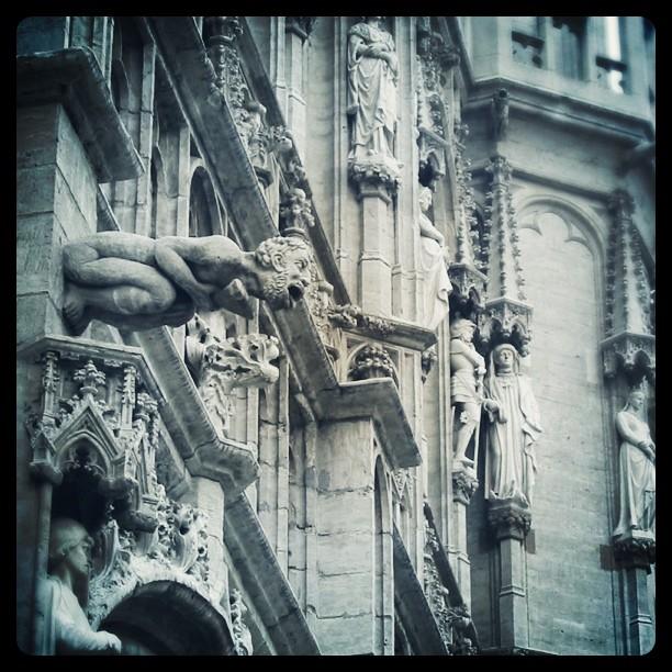 Gargoyle in Brussels