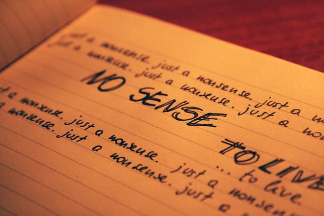 Stupide parole su carta | Scritte ritrovate in una Moleskine… | Flickr