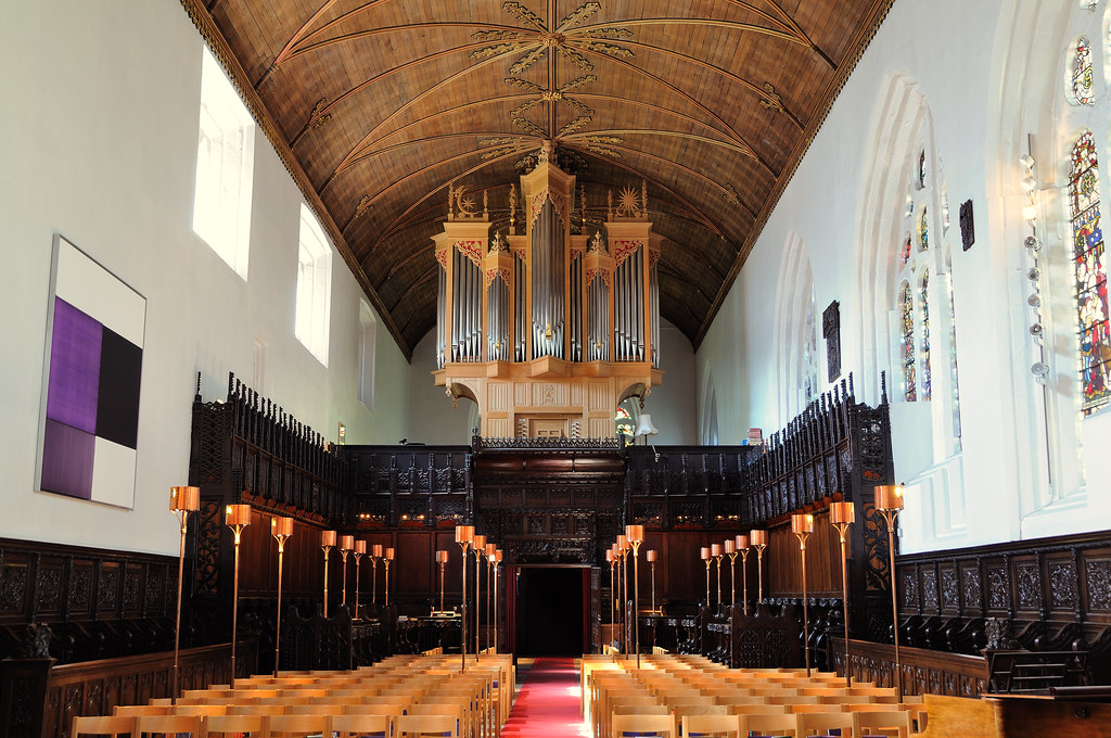 The interior of Kings College Chapel Old Aberdeen  Flickr