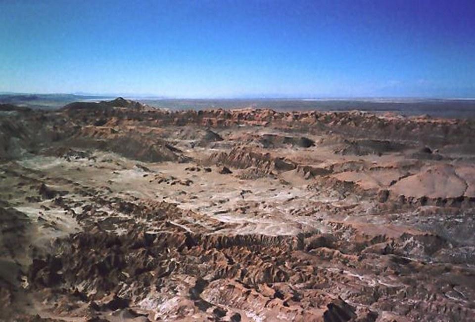 Cordillera de la Sal en Salar de Atacama Chile 02