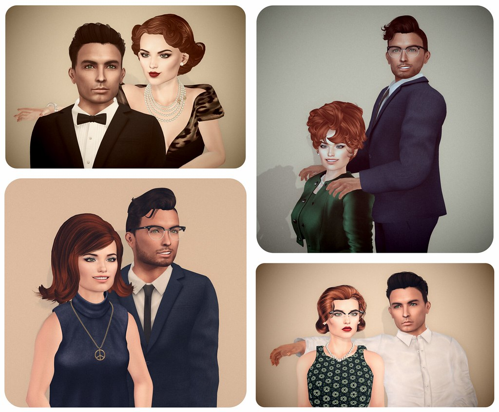 vintage couples poses new