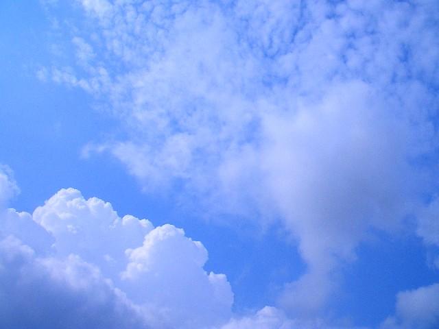 Blue Sky 青空 入道雲が見える、つかの間の青空 Kanko Flickr