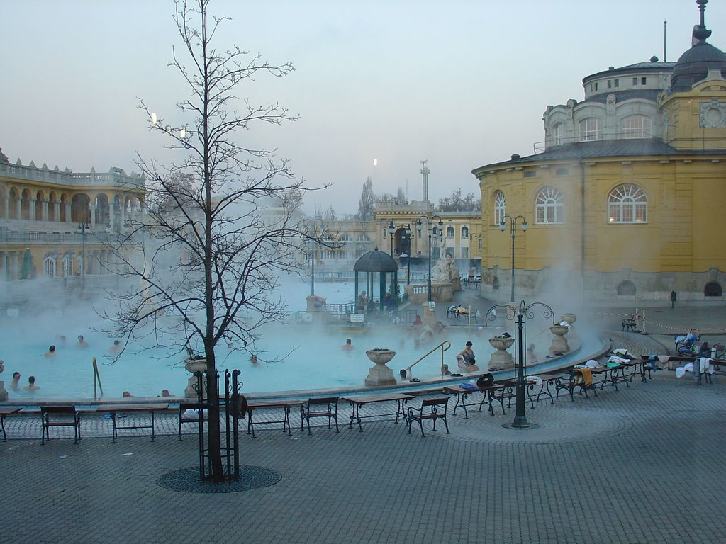 Outdoor Szechenyi Baths