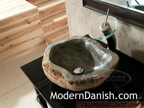 Cobble Sink  Royale  Natural Boulder  UNIQUE Gem Stone   Flickr
