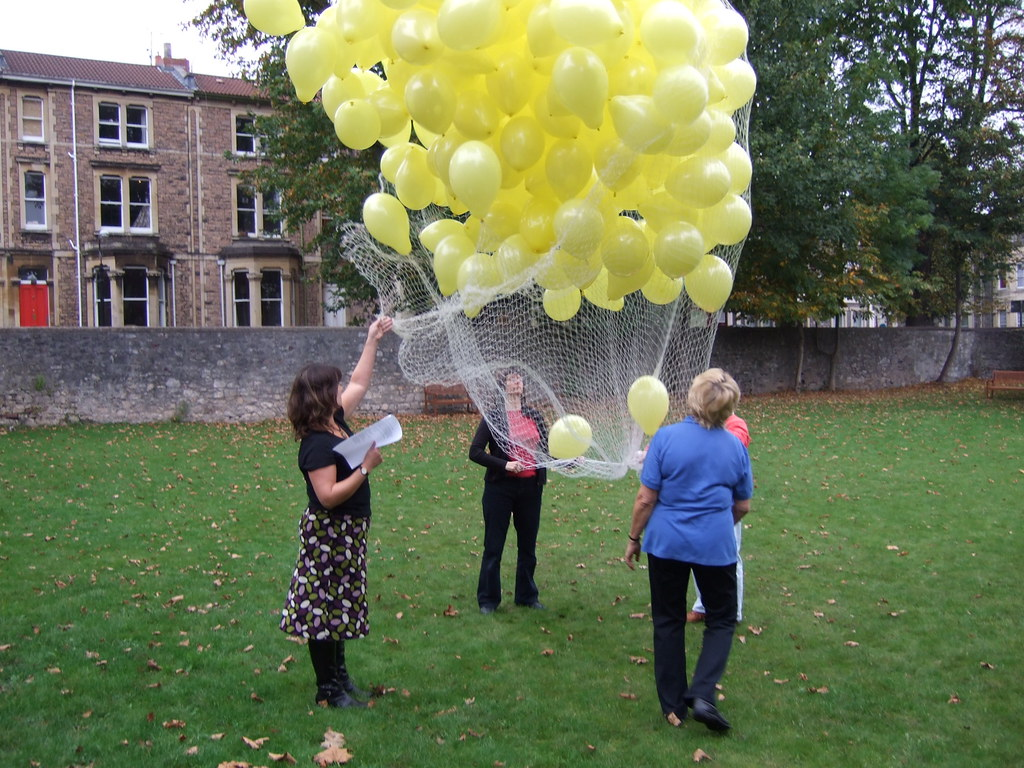 Balloon Release   I went to the Miscarriage Association's ...