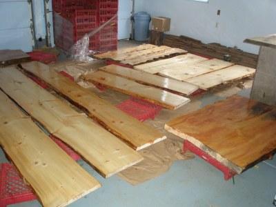 natual wood slabs