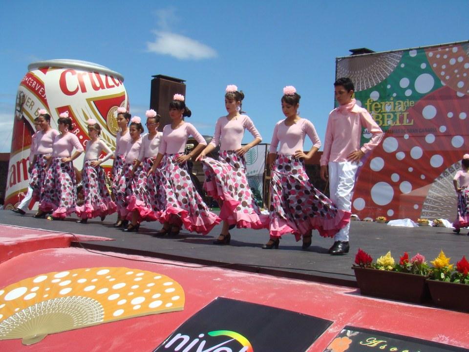 infantiles Amanecer Rociero IV Feria Abril Las Palmas de Gran Canaria 01