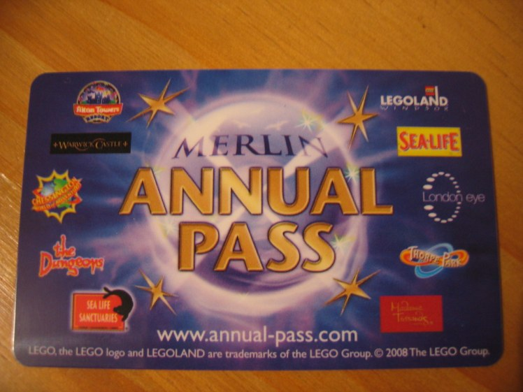 Cheap attraction ticket Merlin pass