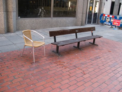 bench with extension