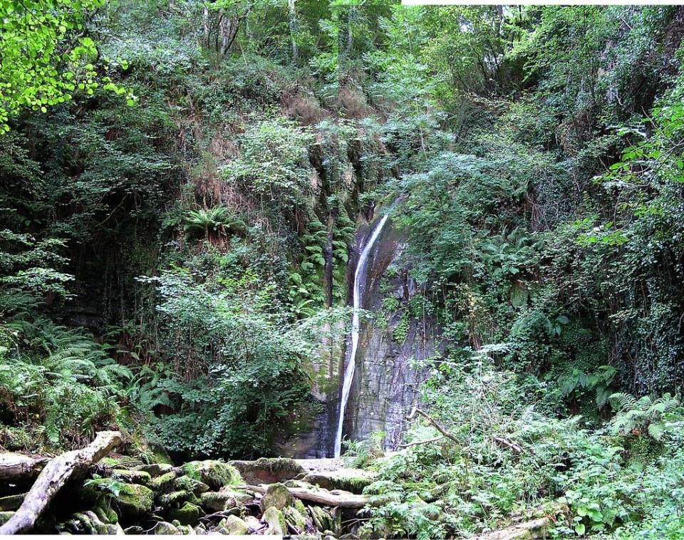 Mondoñedo Cascada de Salto Coro Lugo 05