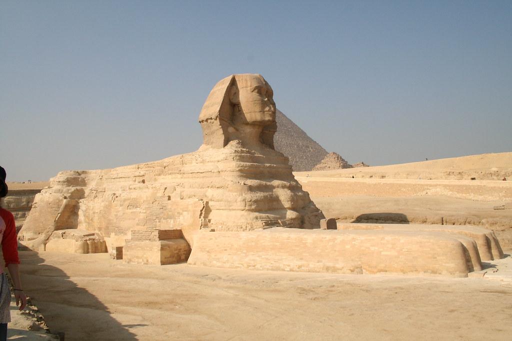 獅身人面像側面 | 開羅獅身人面像 | 溜噠 | Flickr