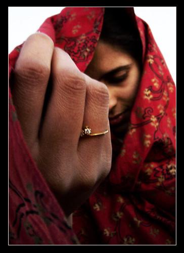 engagement india photo