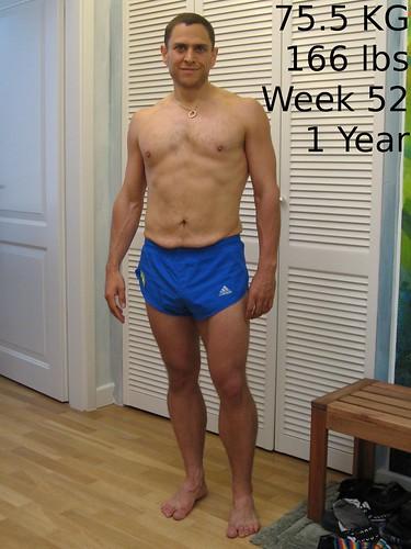 Week52 75.5 KG | Weight: 75.5 KG (166 lbs) BMI: 26.8 ...