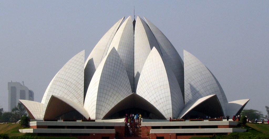 lotus temple baha i