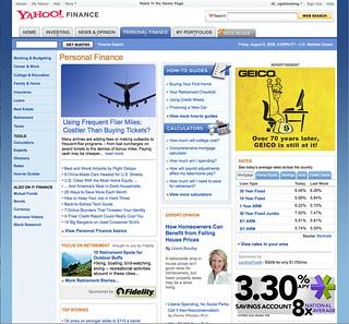 Yahoo Finance   Aug 08   VG-UXG   Flickr