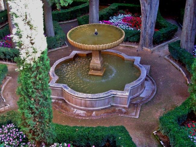 Fountain at Nasrid