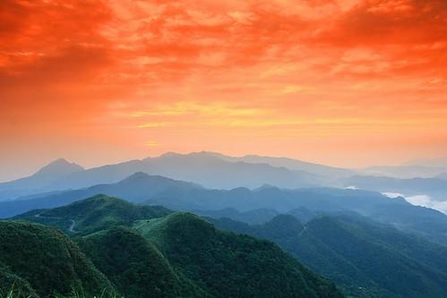 248   Taiwan 五分山 彤雲   fang99   Flickr