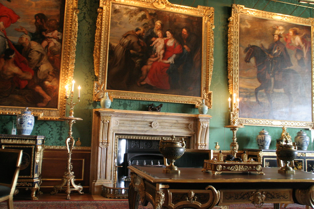 Rubens Room  The Kings Drawing Room  Windsor Castle