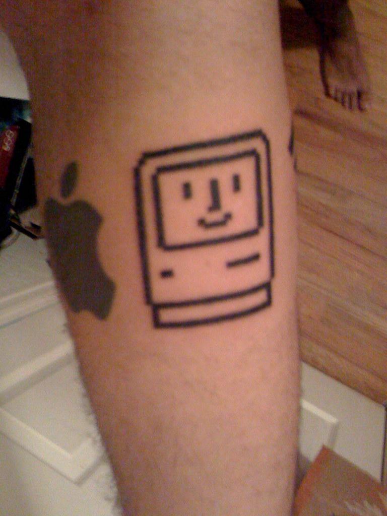 happy mac tattoo part