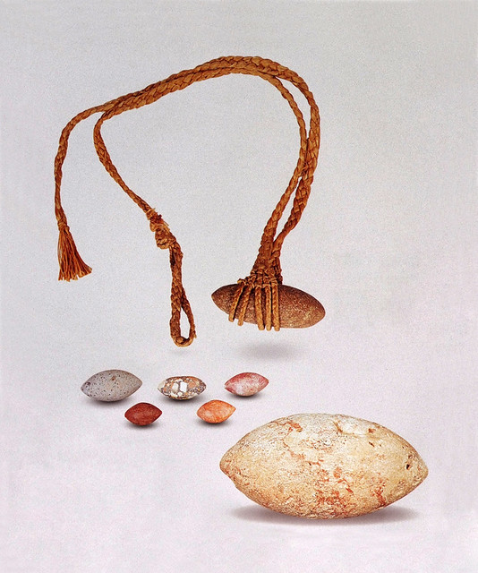 Various Slingstones and Sling