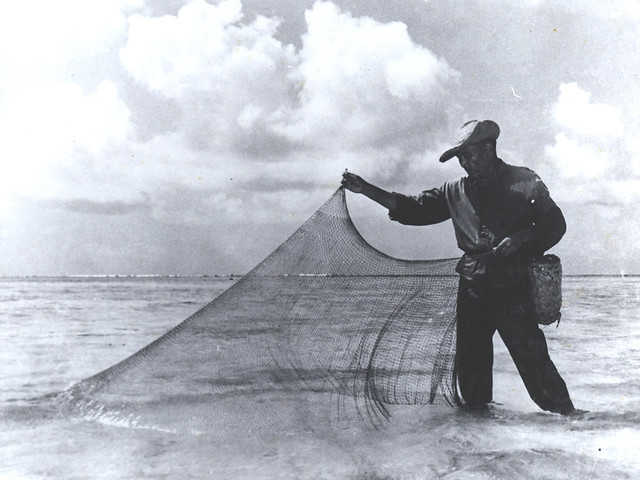 Fisherman with a Talaya