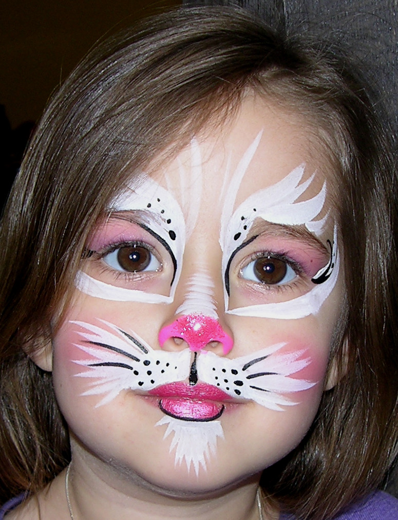 Kitty Cat Face Paint : kitty, paint, Kitty, Painting, Georgia, Steel, Of…, Flickr