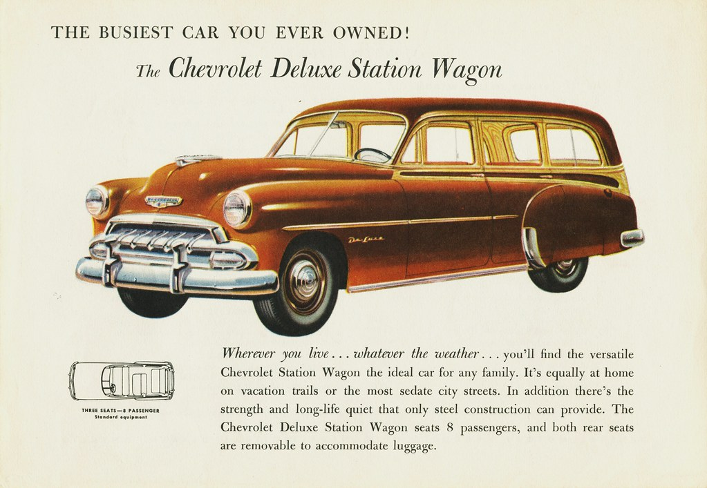 1952 chevrolet station wagon