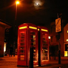 Phone booths in Cambridge