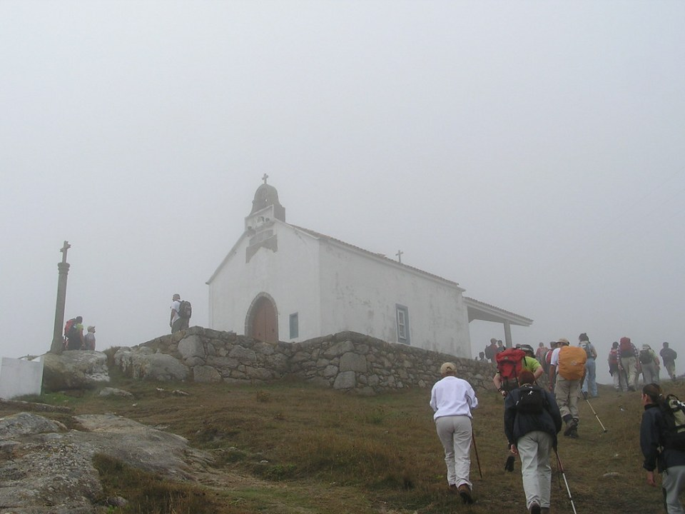 Ermita de Santa Rosa de Lima Monte Cornaceiras La Coruña Galicia 11