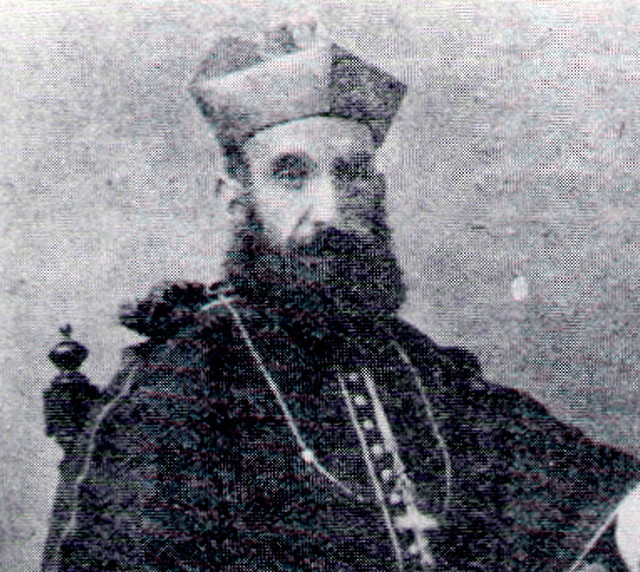 Bishop Joaquin Felipe Olaiz y Zabalza in 1914