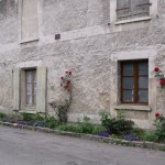 Giverny Building With French Window Shutters Buildings D