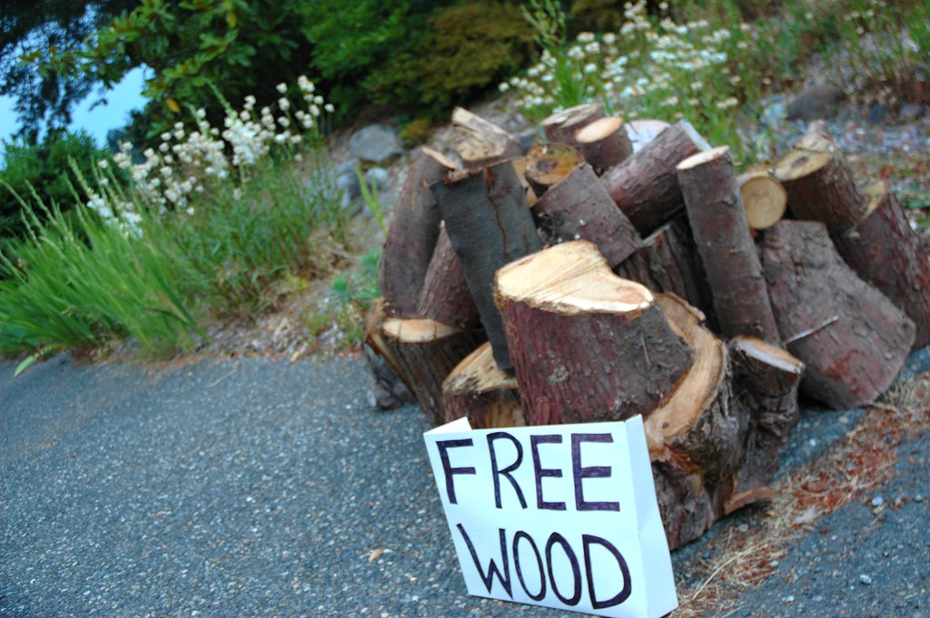 free wood sign with