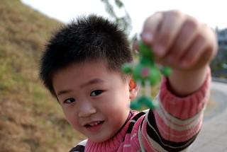 兩小無猜 | 在岡山河堤公園拍攝 | 林小央 | Flickr