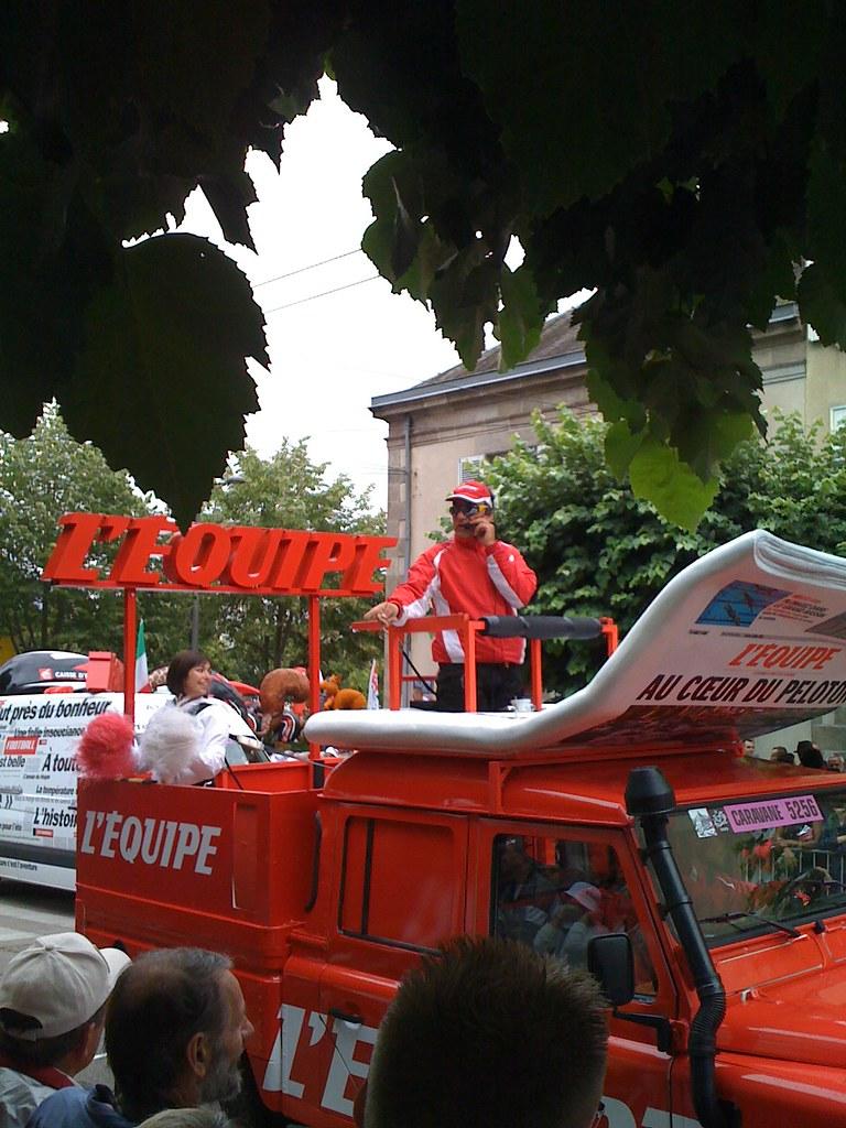 Caravane Du Tour De France : caravane, france, Caravane, France, Sylvainratton, Flickr