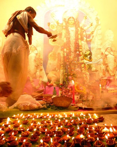 The Significance of Chanting Chandi Path during Durga Puja Rituals