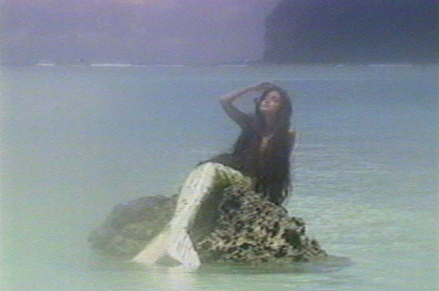 Sirena, Guam's Legendary Mermaid, Bathing in the Sun