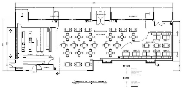 Cafeteria  Floorplan  Miah Gomez  Flickr