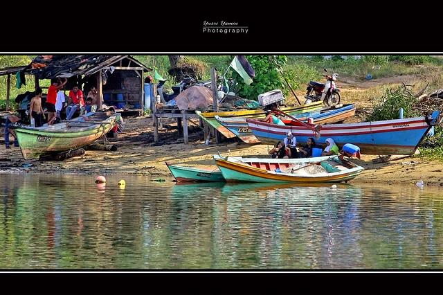 kampung nelayan geting tumpat