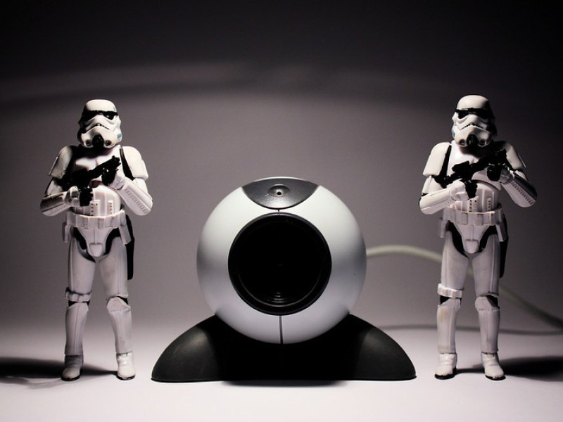 Darth Vader is watching you