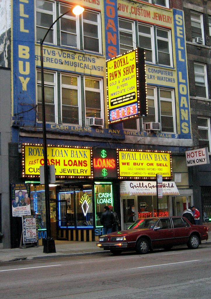 Pawn Shop Fruitridge : fruitridge, Storefront, Royal, Signs, Ro…, Flickr