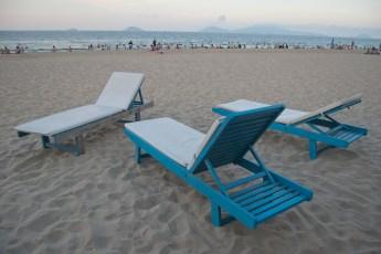 Lieben am Strand von Hoi An