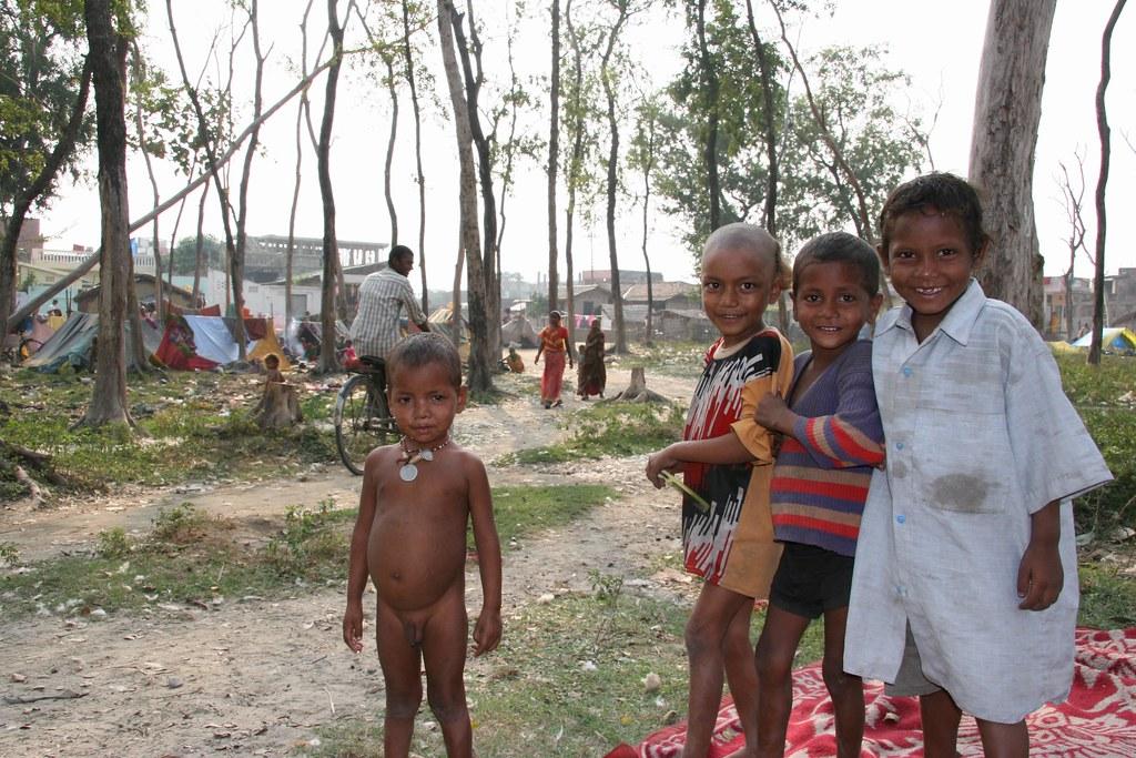 janakpur poor kids of